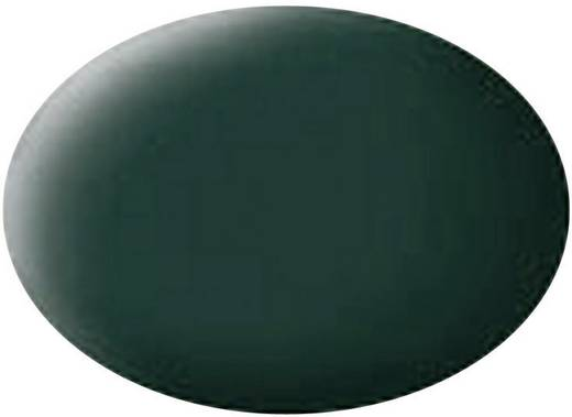 Revell 36140 Aqua Color verf Zwart-groen Kleurcode: 40 Doos 18 ml