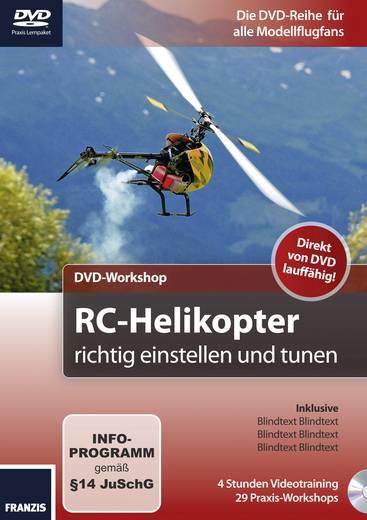 DVD-Workshop RC-Helikopter richtig einstellen und tunen (Duitstalig)