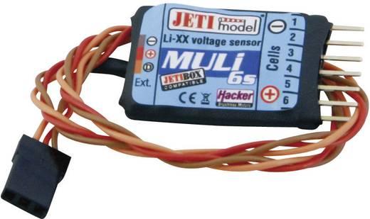 Spanningssensor Jeti JEX-MULI6S