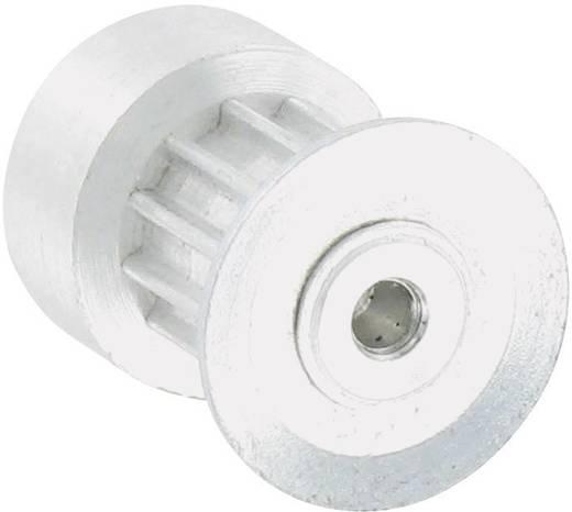Reely Aluminium Tandriemschijf Boordiameter: 6 mm Diameter: 26 mm Aantal tanden: 30