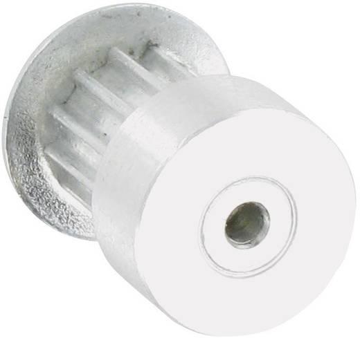 Reely Aluminium Tandriemschijf Boordiameter: 3.2 mm Diameter: 13 mm Aantal tanden: 12