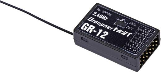 Graupner 33506 6-kanaals ontvanger 2,4 GHz Stekkersysteem JR