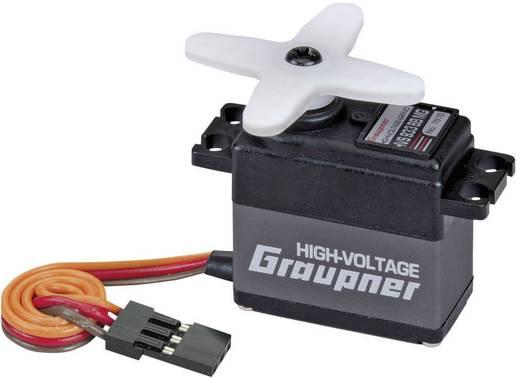 Graupner HVS 933 BB MG Midi-servo Analoge servo Materiaal (aandrijving): Metaal Stekkersysteem: JR