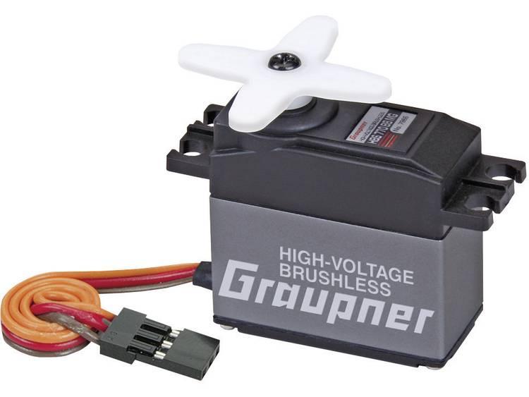 Image of Graupner Standaard servo HBS 770 BB MG Brushless servo Materiaal (aandrijving): Metaal Stekkersysteem: JR