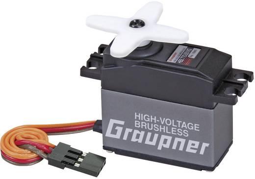 Graupner Standaard servo HBS 770 BB MG Brushless servo Materiaal (aandrijving): Metaal Stekkersysteem: JR