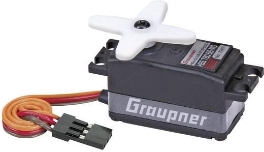 Graupner Standaard servo HBS 790 BB MG Brushless servo Materiaal (aandrijving): Metaal Stekkersysteem: JR