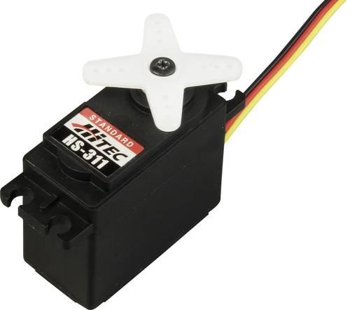 Hitec Standaard servo HS-311 Analoge servo Materiaal (aandrijving): Polyamide Stekkersysteem: JR
