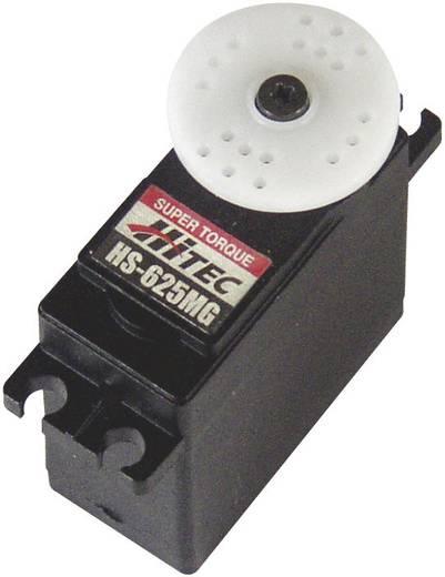 Hitec Standaard servo HS-625MG Analoge servo Materiaal (aandrijving): Metaal Stekkersysteem: JR
