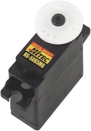 Hitec Mini-servo HS-5085MG Digitale servo Materiaal (aandrijving): Metaal Stekkersysteem: JR