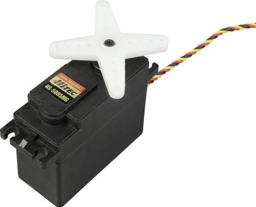 Hitec Speciale servo HS-5805MG Digitale servo Materiaal (aandrijving): Metaal Stekkersysteem: JR
