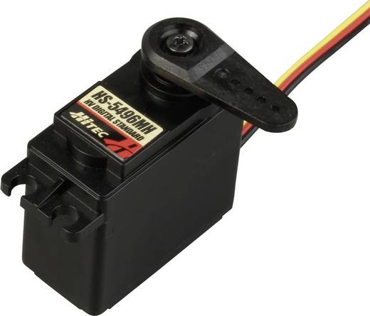 Hitec Standaard servo HS-5496MH Digitale servo Materiaal (aandrijving): Metaal Stekkersysteem: JR