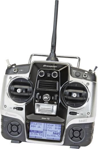 Graupner MX-12 RC handzender 2,4 GHz Aantal kanalen: 6 Incl. ontvanger