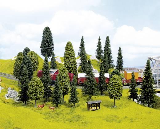 Set bomen Gemengd bos Hoogte (min.): 65 mm Hoogte (max.): 150 mm NOCH 26410 10 stuks