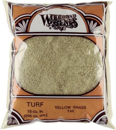 Woodland Scenics WT43 Vlokken Wilting vegetatie (Geel Gras) Geel
