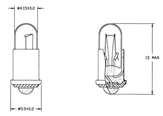 21724351 Speciale gloeilamp Helder BA517 24 V 35 mA