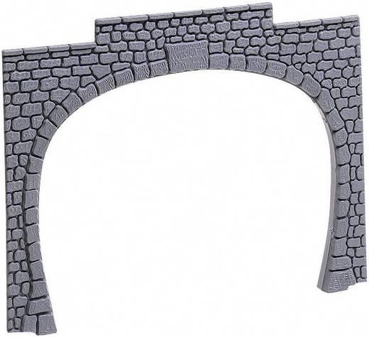 H0 Tunnelportaal Entrée de tunnel, 2 voies H0 (lot de 2) 2-sporig Kunststof model 60020