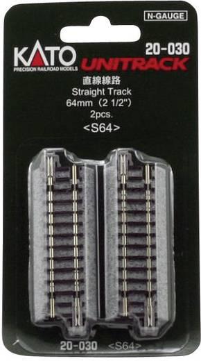 N Kato Unitrack 7078005 Rechte rails 64 mm