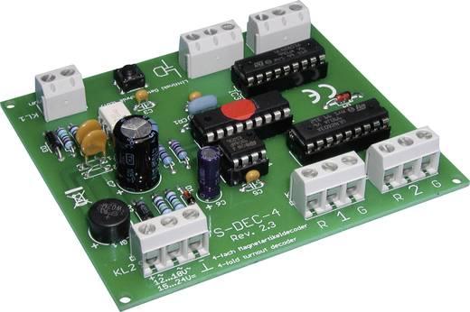 LDT Littfinski Daten Technik S-DEC-4-DC S-DEC-4-DC Magneetartikeldecoder Bouwpakket, Zonder kabel, Zonder stekker
