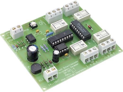 LDT Littfinski Daten Technik SA-DEC-4-DC SA-DEC-4-DC Schakeldecoder Bouwpakket, Zonder kabel, Zonder stekker