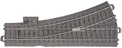 H0 Märklin C-rails (met ballastbed) 24611 Wissel, Links 188.3 mm