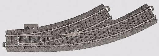 H0 Märklin C-rails (met ballastbed) 24671 Gebogen wissel, Links 30 ° Gebogen wissel, links
