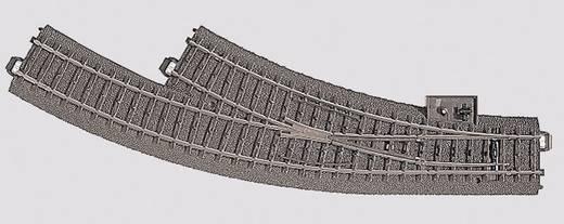 H0 Märklin C-rails (met ballastbed) 24672 Gebogen wissel, Rechts