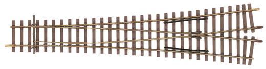 H0 Tillig Elite rails 85381 Gebogen wissel, Symmetrisch