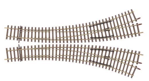 H0 Tillig Elite rails 85314 Gebogen wissel, Links <