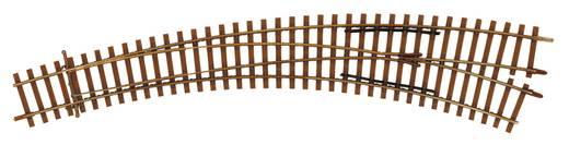 H0 Tillig Elite rails 85334 Gebogen wissel, Links <