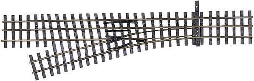 H0e Tillig smalspoorrails 85192 3-railwissel, Links 128 mm