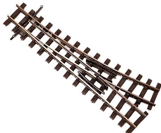 H0e Tillig smalspoorrails 85638 Wissel, Links 128 mm