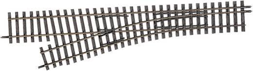 H0m Tillig smalspoorrails 85184 Aftakking, Links 228 mm