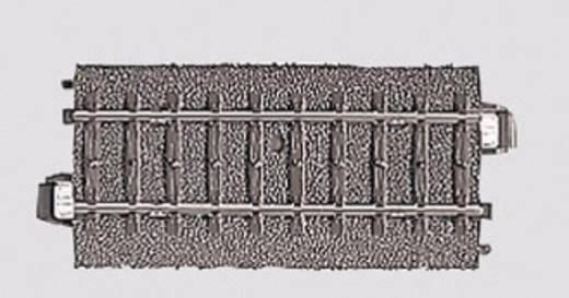H0 Märklin C-rails (met ballastbed) 24077 Rechte rails 77.5 mm
