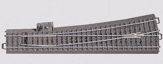 H0 Märklin C-rails (met ballastbed) 24711 Wissel, Slank, Links 12.1 ° Slanke wissel, links 236.1 mm
