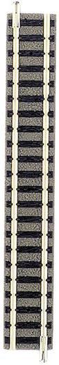 N Fleischmann Piccolo (met ballastbed) 9101 Rechte rails 111 mm
