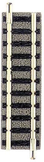 N Fleischmann Piccolo (met ballastbed) 9102 Rechte rails 57.5 mm