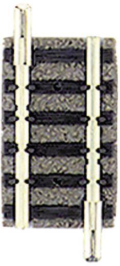 N Fleischmann Piccolo (met ballastbed) 9104 Rechte rails 27.75 mm