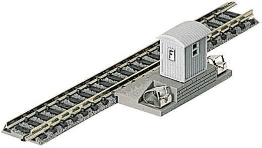 N Fleischmann Piccolo (met ballastbed) 9108 Aansluitrails, Recht 111 mm
