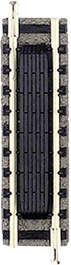 N Fleischmann Piccolo (met ballastbed) 9115 Rechte rails, Schakelcontact 55.5 mm