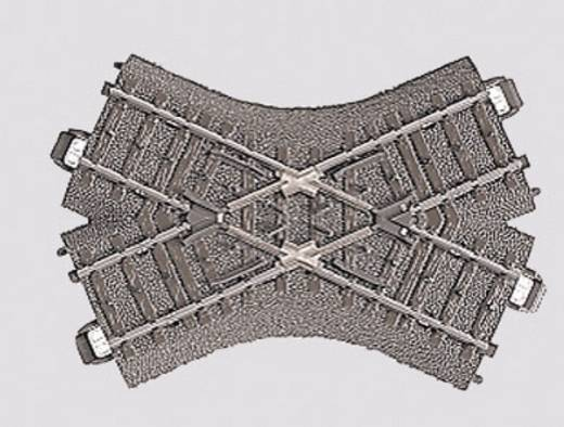 H0 Märklin C-rails (met ballastbed) 24649 Kruising 103.3 mm