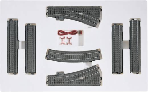 H0 Märklin C-rails (met ballastbed) 24902 Uitbreidingsset C2