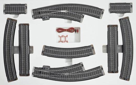 H0 Märklin C-rails (met ballastbed) 24904 Uitbreidingsset C4