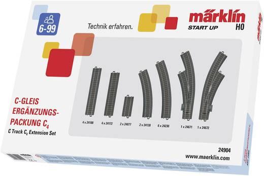 H0 Märklin C-rails (met ballastbed) 24904 Uitbreidingsset