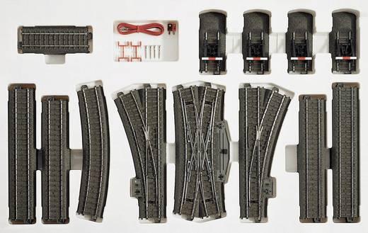 H0 Märklin C-rails (met ballastbed) 24905 Uitbreidingsset C5
