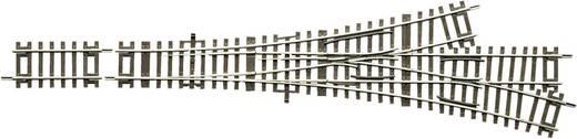H0 Roco RocoLine (zonder ballastbed) 42454 Driewegwissel 287.5 mm