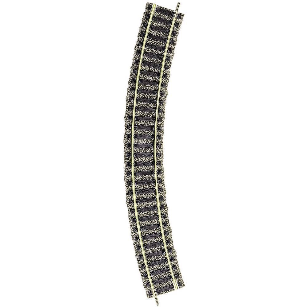 6120 H0 Fleischmann Pro-spår kurvspår 36 ° 356.5 mm