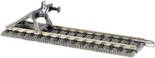 H0 Fleischmann Profi-rails 6116 Eindstuk met stootblok 105 mm 1 stuks