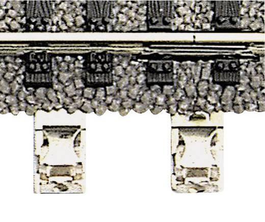 H0 Fleischmann Profi-rails 6430 Aansluitklem, 2-polig Voor aansluiting stroomvoorziening 1 stuks