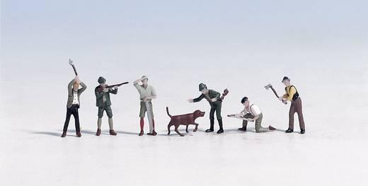 NOCH 15060 H0 figuren jagers en houthakkers
