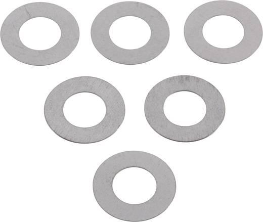Staal Aanloopring 6 mm 12 mm 0.2 mm 20 stuks